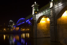 Pushkin Bridge, Moscow, Russia