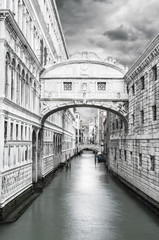 Fototapeta Bridge of Sighs Venice Italy