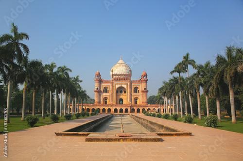 Stickers pour porte Delhi Tomb of Safdarjung in New Delhi, India