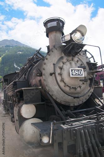 Fotografie, Obraz  Narrow Gauge Railway from Durango to Silverton in Colorado USA.