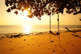 Beautiful Beach at Sunrise - 79767743