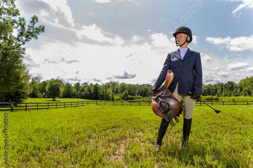 Fotografía  Equestrian Model