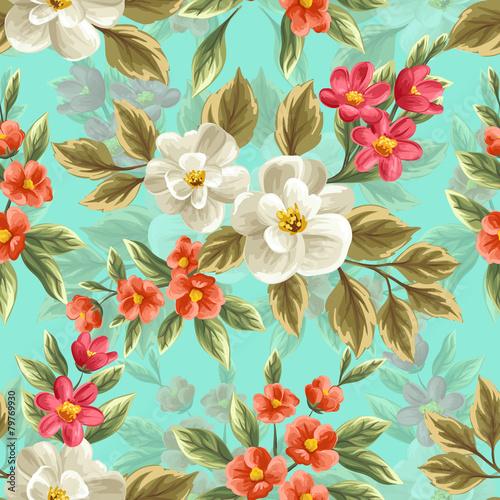 kwiaty-na-turkusowym-tle