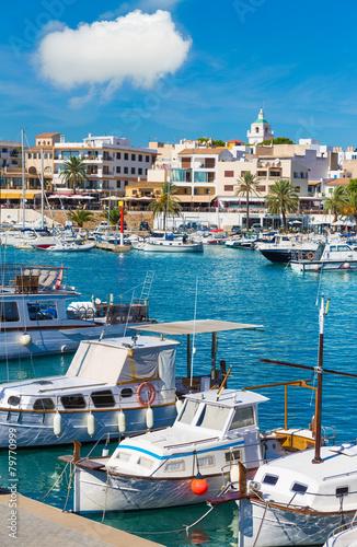 Photo Stands Europa Majorca Cala Ratjada Rajada in Capdepera Mallorca