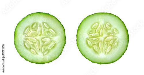 Photo  Cucumber slices