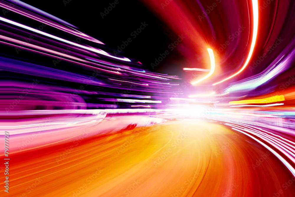 Fototapety, obrazy: speed motion