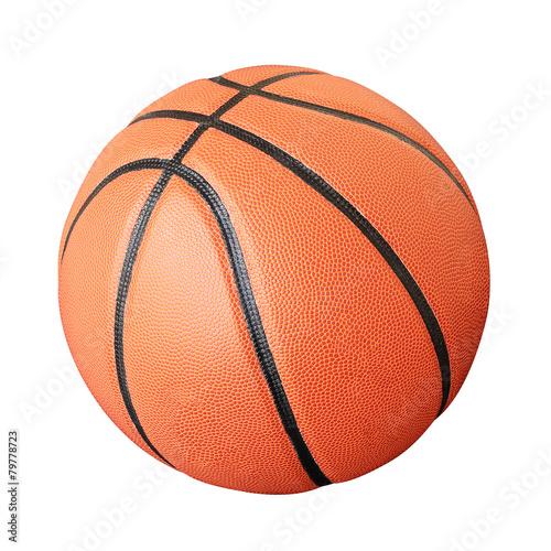 In de dag Bol Basketball (Clipping Paths)