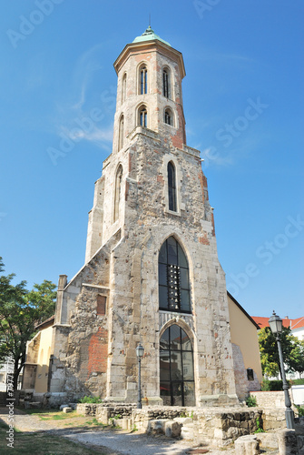 Fotografia Budapest. Church of St. Mary Magdalene