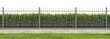 Leinwandbild Motiv Ideal village fence panorama