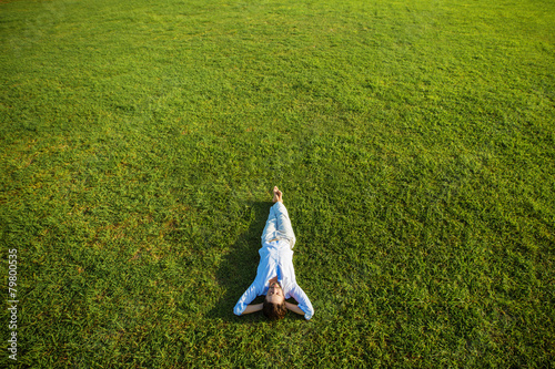 Fotobehang Ontspanning enjoying life, success concept