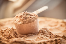 Whey Protein Scoop. Sports Nut...