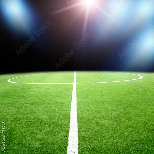 Pinturas sobre lienzo  soccer stadium with bright lights