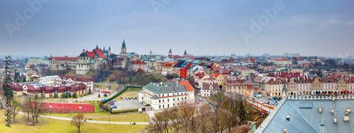 Obraz Lublin old town panorama, Poland. - fototapety do salonu
