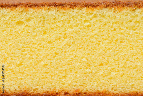 Canvas-taulu sponge cake