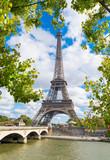 Fototapeta Fototapety z wieżą Eiffla - Paris eiffel tower