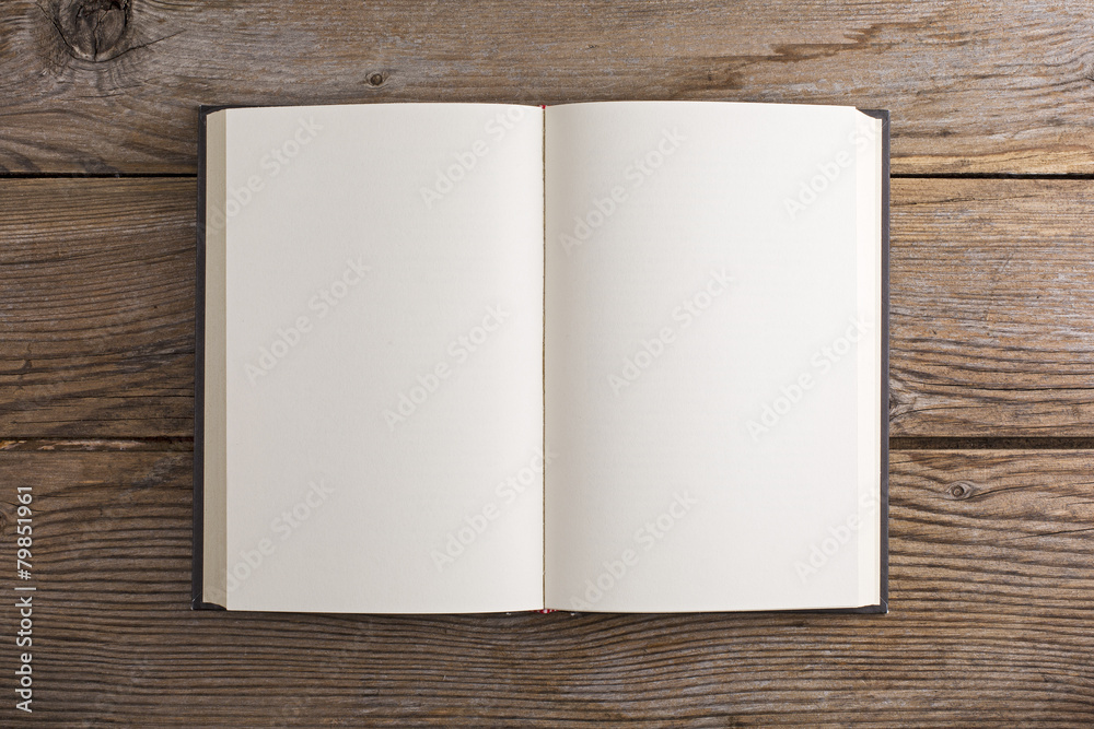 Fototapeta Libro vuoto