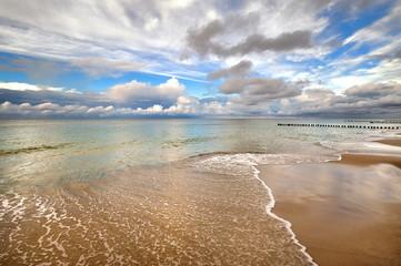 FototapetaKrajobraz Morski, morze, wybrzeże, Bałtyk