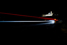 Light Trails On Assisi