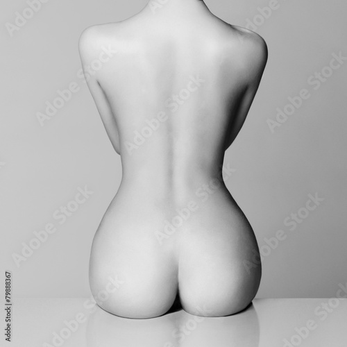 perfect female body плакат
