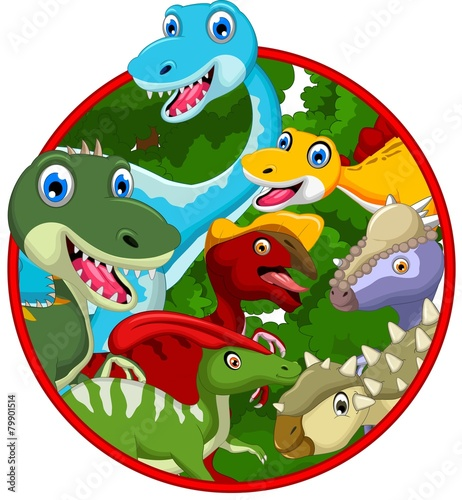 kolekcja-kreskowka-dinozaurow-w-ramce