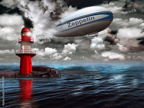 sterowiec-sterowiec-z-latarnia-morska-nad-oceanem
