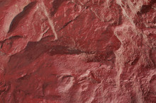 Rocks Red Wall