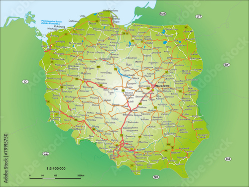Fototapeta Polen 1_3,4 Mio obraz