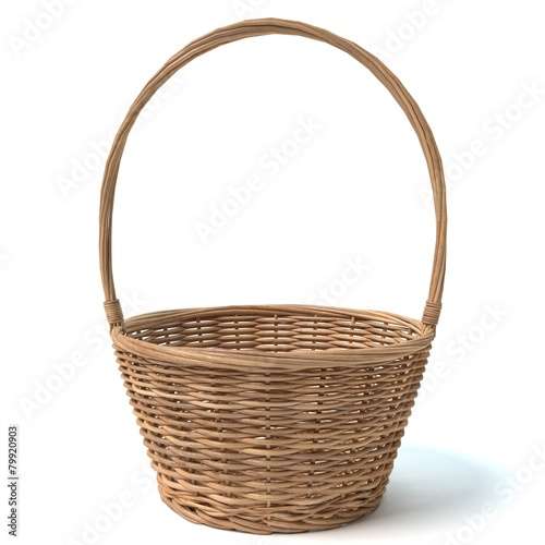 Fotografie, Obraz  3d illustration of a basket