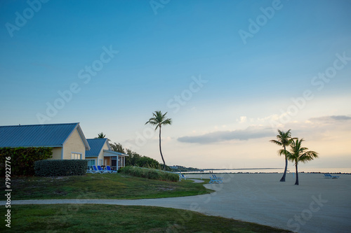 Foto op Aluminium Strand Calm morning on Key Largo, Florida
