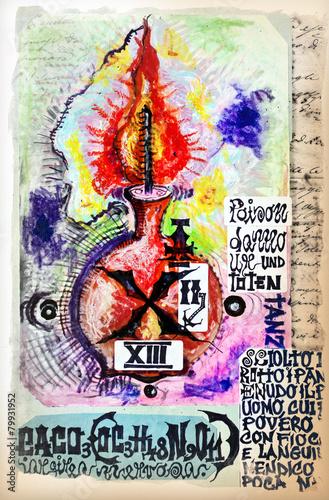 ezoteryczne-tlo-serii-notatnik