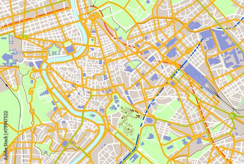 Zdjęcie XXL Rzymska mapa kolorów