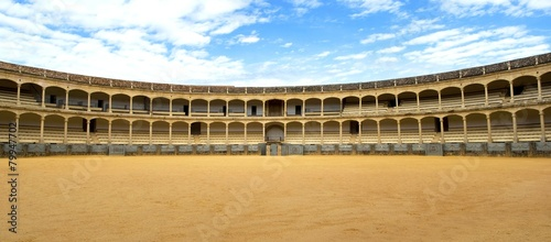 Bullring in Ronda, Andalusia, Spain