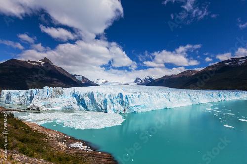 Printed kitchen splashbacks Glaciers Glacier in Argentina