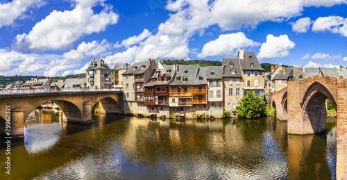 Papiers peints Paris Espalion - one of the most beautiful villages of France (Aveyron