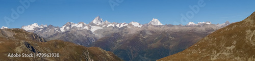 Swiss Alps, View from Nufenen pass - 79963930