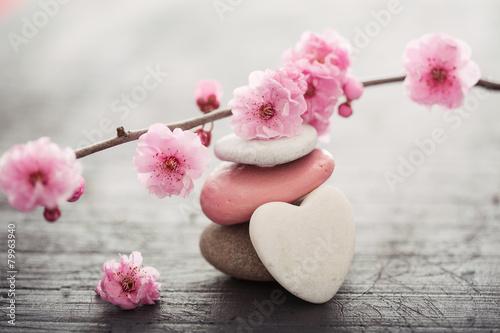 La pose en embrasure Zen fleurs zen