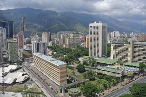 Poster South America Country Caracas, entre ciel et terre