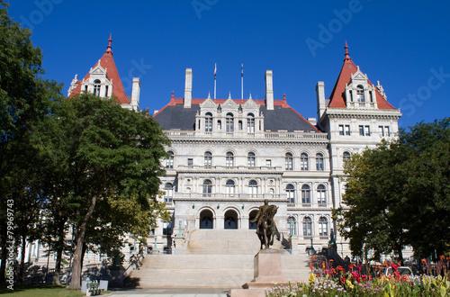 Fotografie, Obraz  Albany New York State Capitol Building