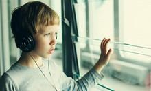 Boy With Headphones