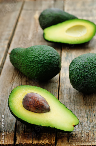 Photo avocado