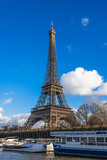 Fototapeta Wieża Eiffla - パリ エッフェル塔