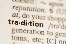 Dictionary Definition Of Word Tradition