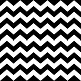 Seamless zig zag pattern in black and white - 80005187