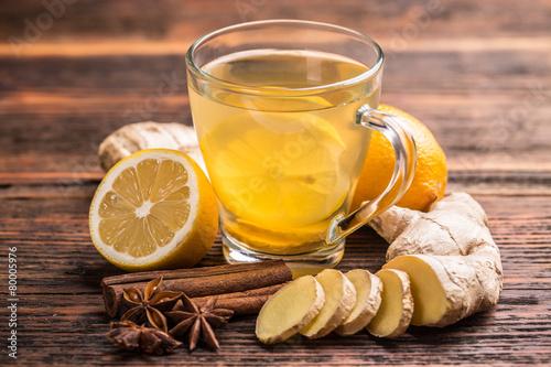 Fototapeta Ginger tea obraz