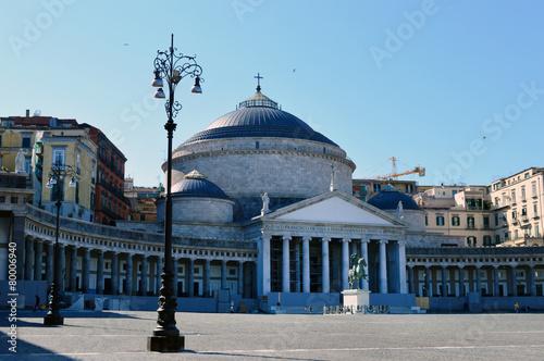 Fotografia, Obraz  Piazza del Plebiscito, Napoli