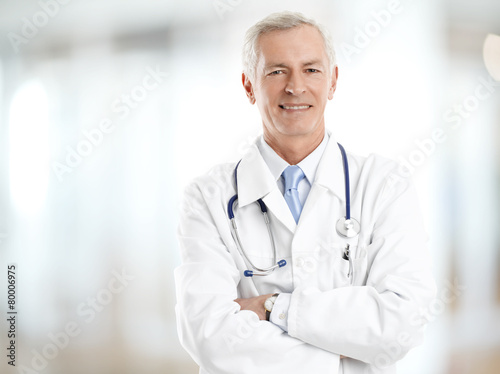 Fototapeta Male doctor portrait