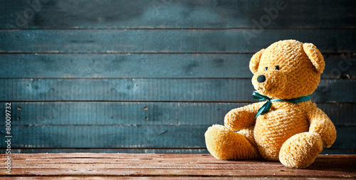 Fotografie, Obraz  Teddy Bear Panorama