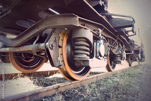 Slika na platnu vintage train