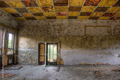 Foto op Canvas Rudnes Old abandoned ruin