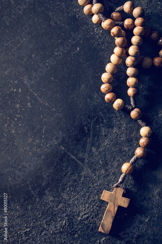 Fotomural rosary beads
